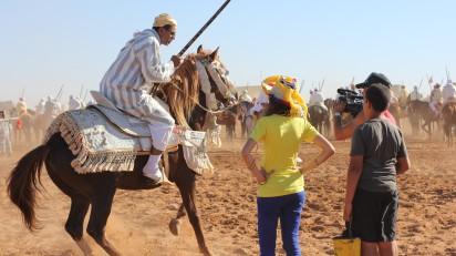 Tournage au Maroc pour France Ô