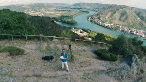 Drone à Tain l'Hermitage